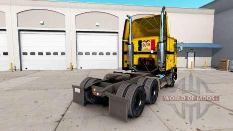 La peau sur la CCC camion Freightliner FLAG pour American Truck Simulator