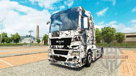 Les mèmes de la peau pour l'HOMME de camion pour Euro Truck Simulator 2