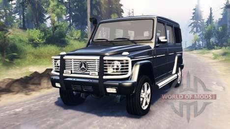 Mercedes-Benz G 500 v3.0 für Spin Tires