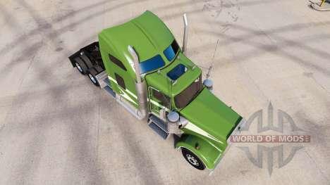 La peau se Déplacer Sur le camion Kenworth W900 pour American Truck Simulator