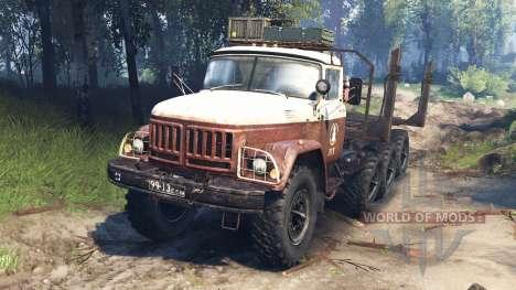 ZIL-131 8x8 v3.0 für Spin Tires