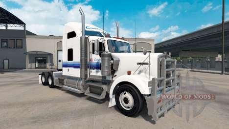 Skin Con-Way für Traktoren und Peterbilt Kenwort für American Truck Simulator