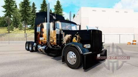 Haut-Far-Cry-Primal für die truck-Peterbilt 389 für American Truck Simulator