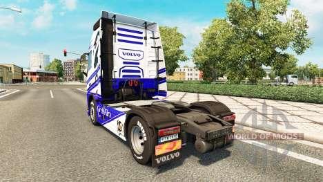 Griffin peau pour Volvo camion pour Euro Truck Simulator 2