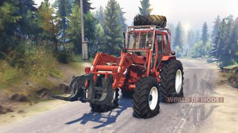 MTZ-82 für Spin Tires