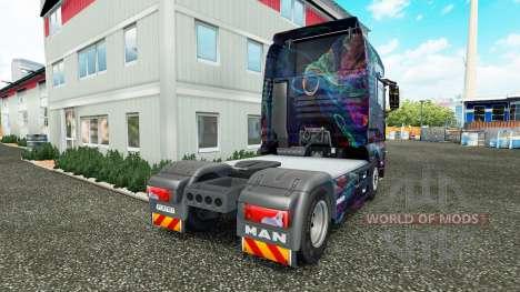 La Fractale de la Flamme de la peau pour l'HOMME pour Euro Truck Simulator 2