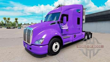 La peau de Contraction sur un tracteur Kenworth pour American Truck Simulator