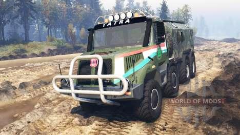 Tatra 163 Jamal 8x8 v3.0 pour Spin Tires