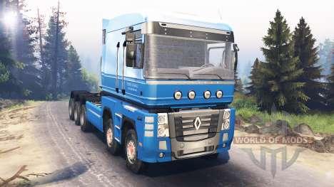 Renault Magnum 10x10 v5.0 pour Spin Tires
