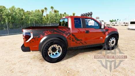 Ford F-150 SVT Raptor [urban] pour American Truck Simulator