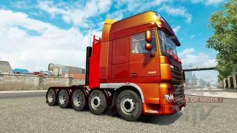 Châssis additionnels pour tracteur DAF XF pour Euro Truck Simulator 2