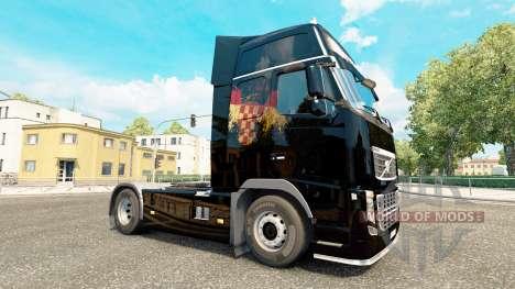 Croate Drapeau de la peau pour Volvo camion pour Euro Truck Simulator 2