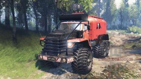Ural-4320 Explorateur Polaire v2.0 pour Spin Tires