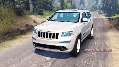 Jeep Grand Cherokee für Spin Tires
