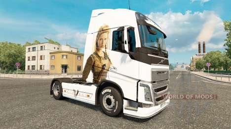 Wikinger skin für Volvo-LKW für Euro Truck Simulator 2