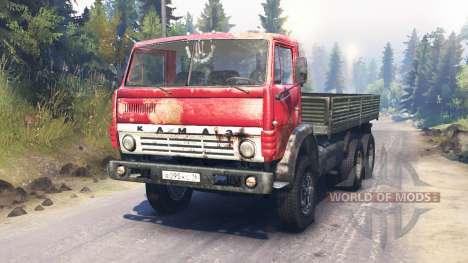 KamAZ-54102 für Spin Tires