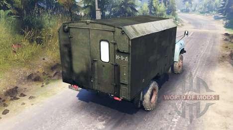 GAZ-52 4x4 v2.0 pour Spin Tires