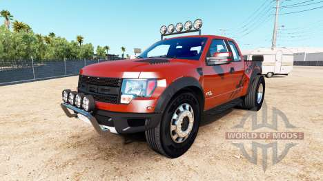 Ford F-150 SVT Raptor [urban] pour American Truck Simulator
