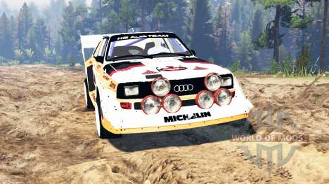 Audi Sport quattro S1 v2.0 für Spin Tires