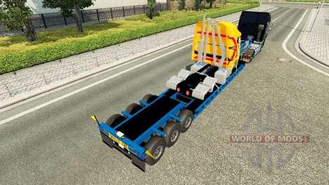 Low sweep mit einem Defekten LKW für Euro Truck Simulator 2