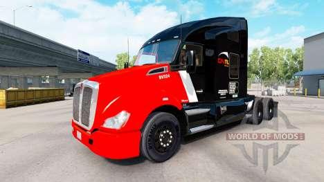 Haut-CN Transport auf Traktoren-und Pet-Ken für American Truck Simulator