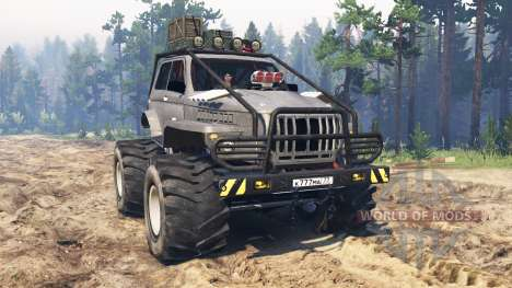 Ural Niva für Spin Tires