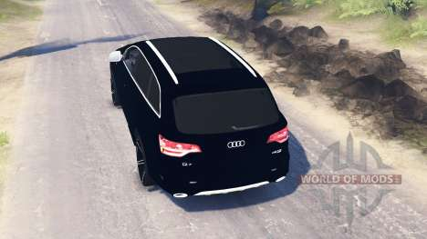 Audi Q7 v3.0 pour Spin Tires