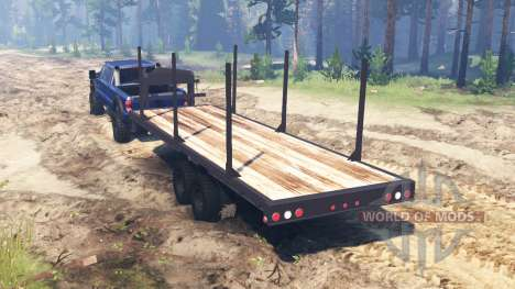 Ford F-450 2014 pour Spin Tires