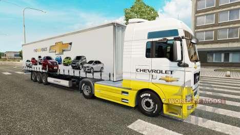 Skins Auto Unternehmen auf LKW für Euro Truck Simulator 2