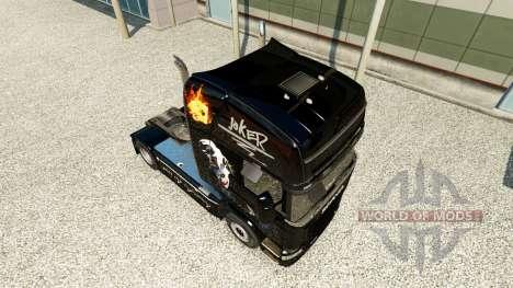 Joker de la peau pour Scania camion pour Euro Truck Simulator 2