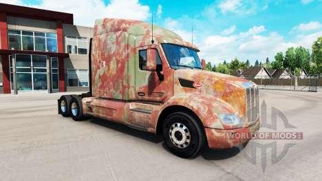 Haut Abstract für LKW Peterbilt für American Truck Simulator