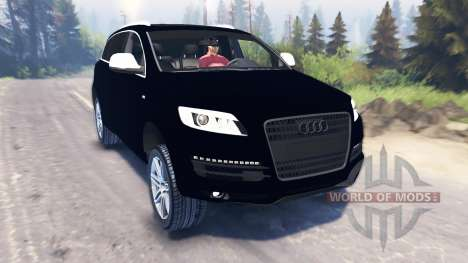 Audi Q7 für Spin Tires