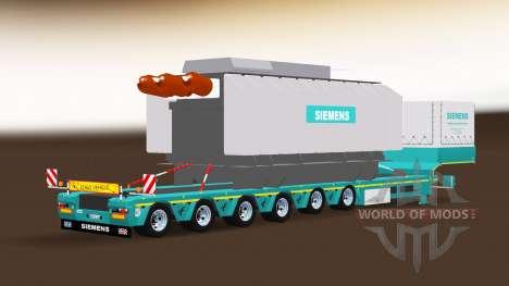Siemens Trafo Trailer für American Truck Simulator
