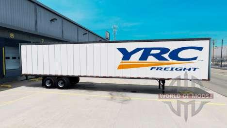 De tous les métaux semi-YRC pour American Truck Simulator
