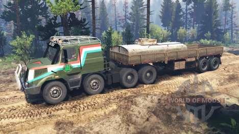 Tatra 163 Jamal 8x8 [update] für Spin Tires