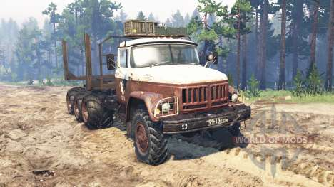 ZIL-131 8x8 pour Spin Tires