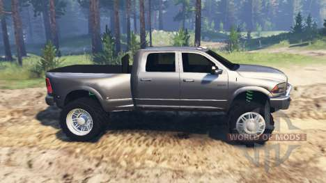 Dodge Ram 3500 Mall Crawler für Spin Tires
