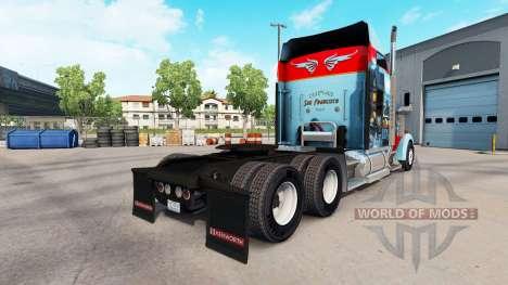 La peau de San Francisco sur le camion Kenworth  pour American Truck Simulator
