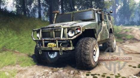 GAZ-2975 Tiger v3.0 für Spin Tires