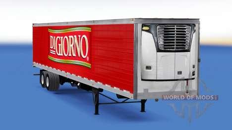 Frigorifique semi-remorque DiGiorno pour American Truck Simulator
