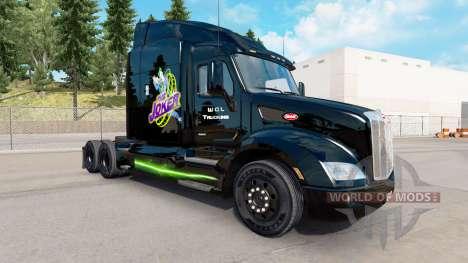 Joker-skin für den truck Peterbilt für American Truck Simulator
