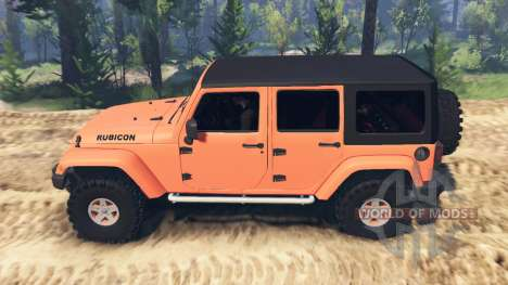 Jeep Wrangler Unlimited pour Spin Tires