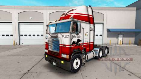 Skin Silver Eagle truck Freightliner FLB für American Truck Simulator