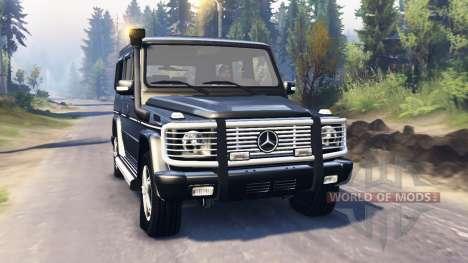 Mercedes-Benz G 500 v2.0 für Spin Tires