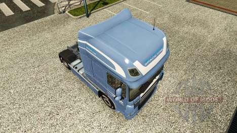 Haut Space Cab. DAF für Euro Truck Simulator 2