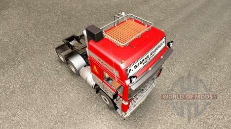 Volvo F10 P. Bjarne Andersen pour Euro Truck Simulator 2