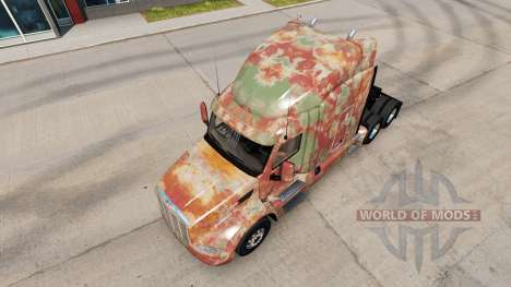 La peau Abstrait pour camion Peterbilt pour American Truck Simulator