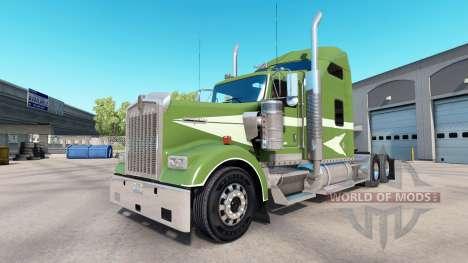 Die Haut Umzug Auf die LKW-Kenworth W900 für American Truck Simulator
