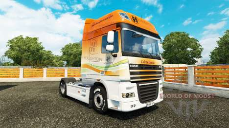 Houghton peau pour DAF camion pour Euro Truck Simulator 2