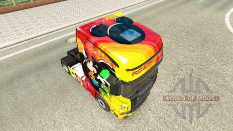 La peau Rostrans Disney Scania camion R700 pour Euro Truck Simulator 2